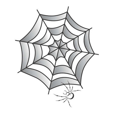spidery: spider web art