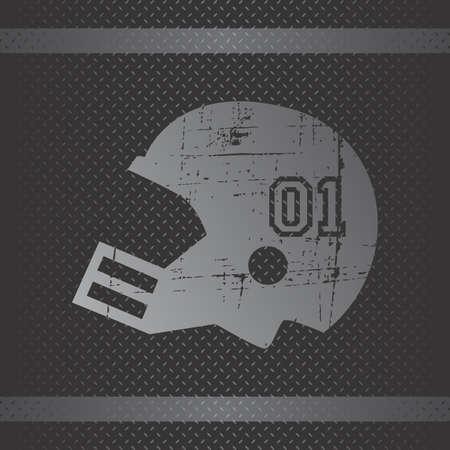 american football theme vector graphic art design illustration Vector