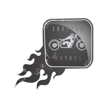 editable motorcycle theme vector graphic art design illustration Vector