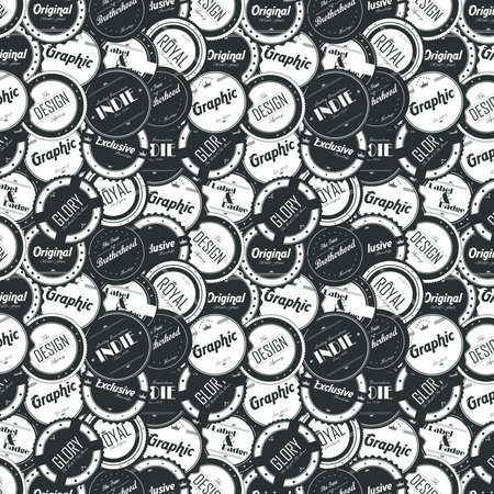 editable label sticker vector graphic art design illustration