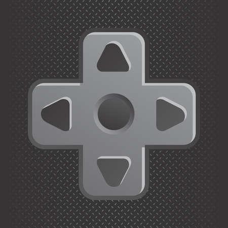 editable game console theme vector graphic art design illustration