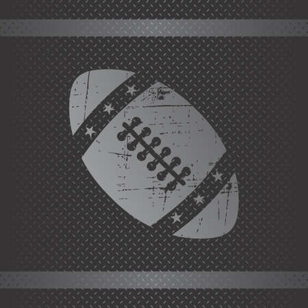 american football theme vector graphic art design illustration Vector