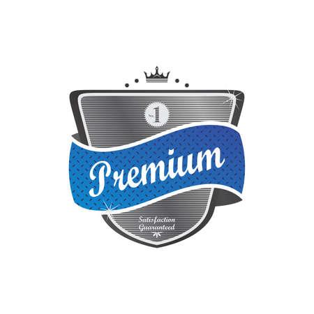 label retro: pegatina retro etiqueta