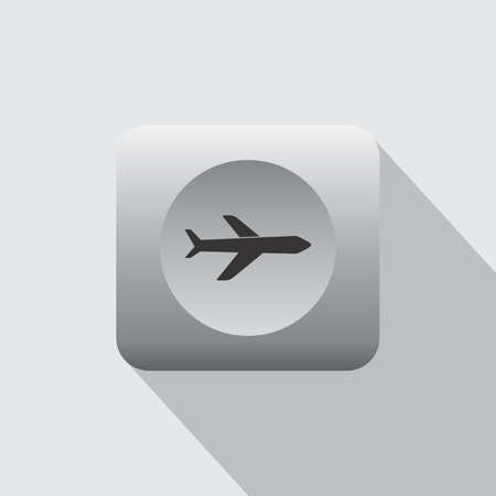 set going: airport sign and icon theme vector art illustration