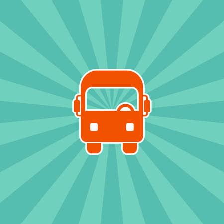 streetcar: veh�culo terrestre tema de iconos de arte vectorial
