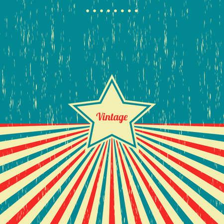 vintage theme: vintage theme background template vector graphic art design illustration