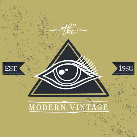 occhio di horus: occhio che tutto vede di Horus Vettoriali