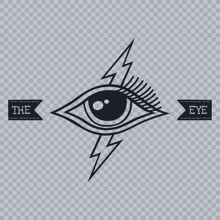 ホルスの目をすべて見る 写真素材 - 35683789