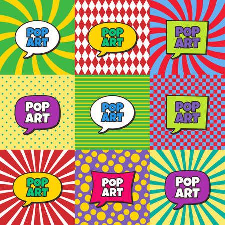 pop art comic book Stock Illustratie