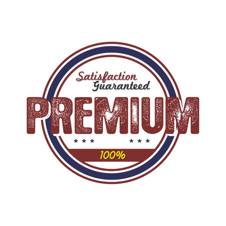 art product: premium product quality badge theme vector art illustration