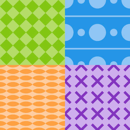 simple native pattern theme vector art illustration Vector