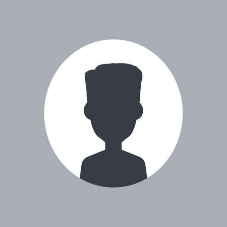 unnamed: unknown male silhouette theme vector art illustration