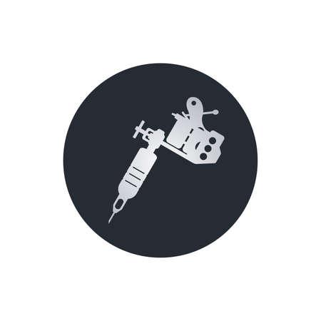 タトゥー マシン アート テーマ ベクトル アート イラスト  イラスト・ベクター素材