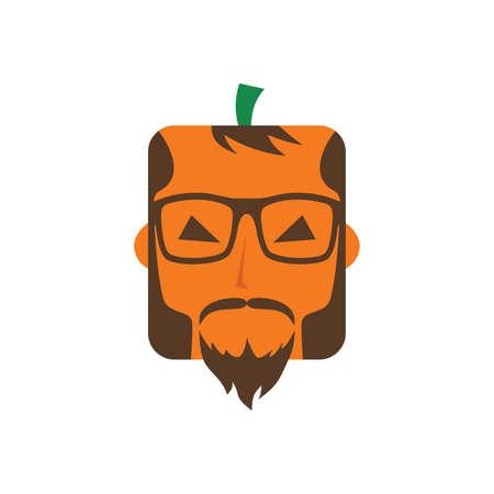 thriller: halloween guy character theme vector art illustration