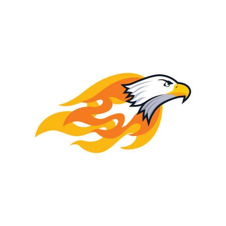 bold: bold firey eagle bird