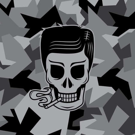 흡연자: smoker skull