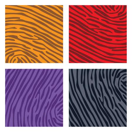 tiger page: color pattern set