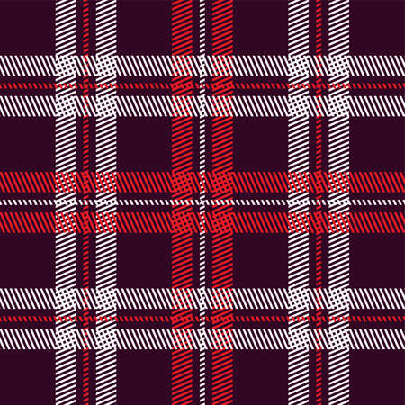 plaid pattern: garment industry plaid pattern vector graphic illustration