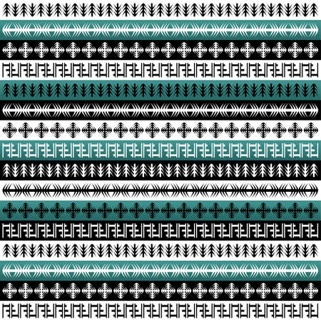 layer styles: native background pattern theme vector art illustration Illustration