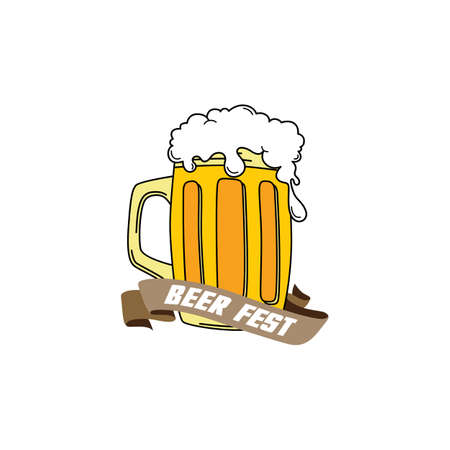 stout: cold beer brewery and drink theme vector art illustration
