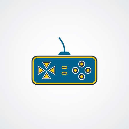 joy pad: game console game joystick theme vector art illustration Illustration