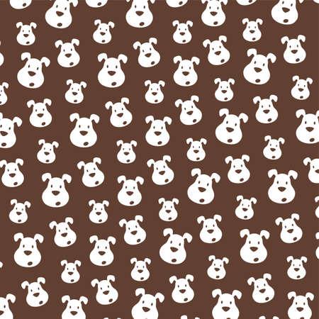 buddy: cute little puppy theme vector art illustration Illustration