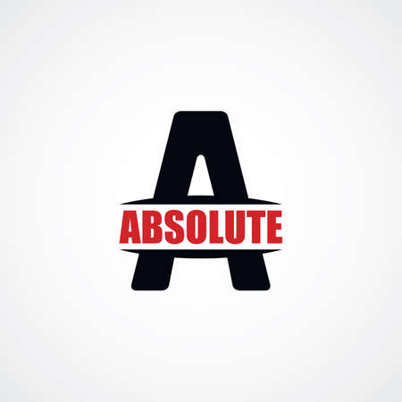 atheism: letter A   sign theme vector art illustration