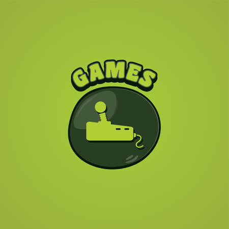 game console: game console joystick controller vector art illustration