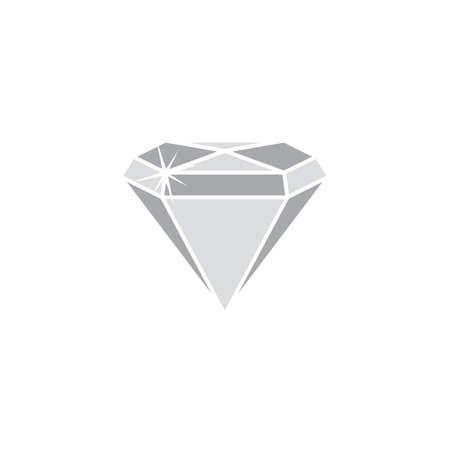 bijou: shiny diamond jewelry theme vector art illustration