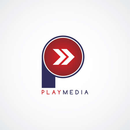 playback: arrow media play icon theme vector art illustration Illustration