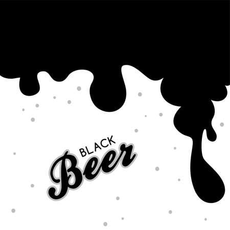 irish pub label design: Beer festival october drink alcohol brewery party vector art illustration