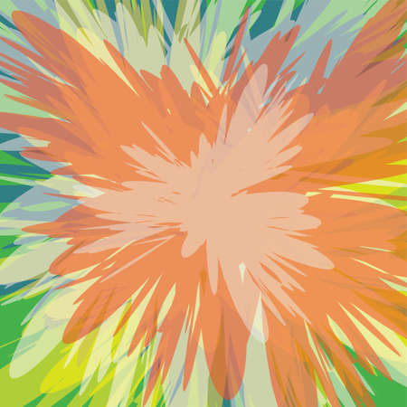 supernova: colorful supernova blast background theme vector art illustration