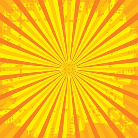 popular ray star burst grungy grunge background vintage vector