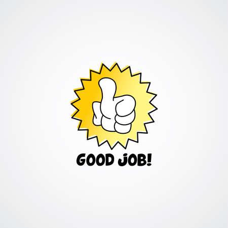 cartoon gesture hand sign theme vector art