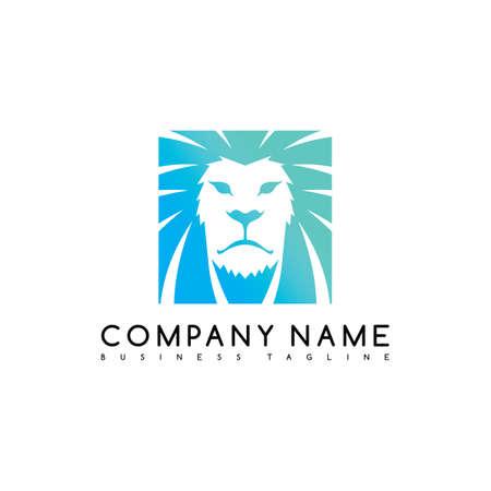 lion king brand template logo logotype vector art illustration