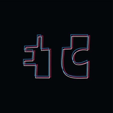 etcetera etc exclusive brand company template logo logotype vector art illustration