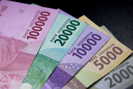 new rupiah money indonesia currency cash finance payment 스톡 콘텐츠