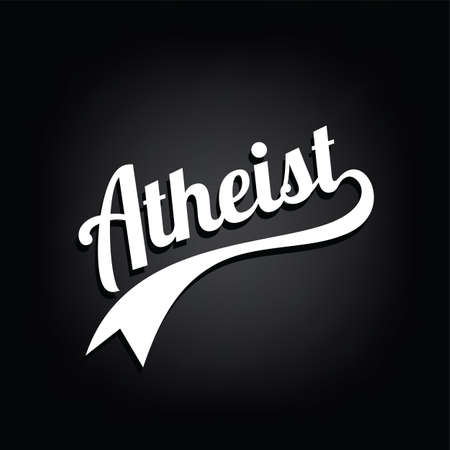 atheism theme - against religious ignorance campaign - vector art Imagens - 80501864