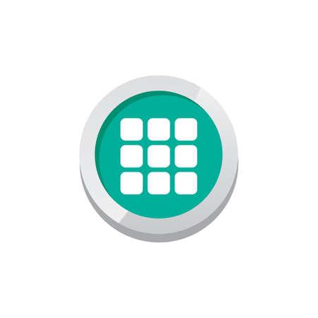 menu game asset icon sign symbol button vector art