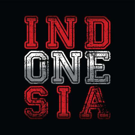 Indonesia art sign.