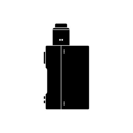 Vaporizer electric cigarette Illustration