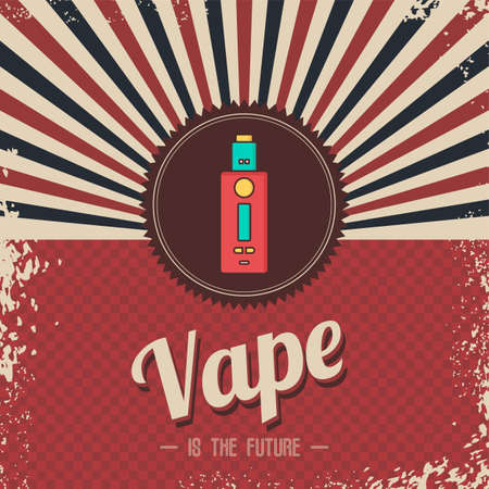 Vape is the future banner.