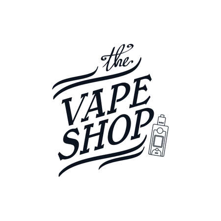electric cigarette personal vaporizer vector art