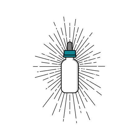 personal vaporizer e-cigarette e-juice liquid vector art Ilustracja