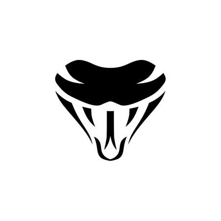 Snake sign symbol icon logo template vector