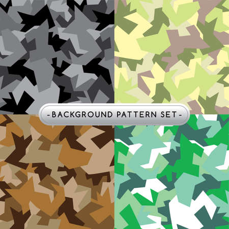 background pattern set collection vector art illustration