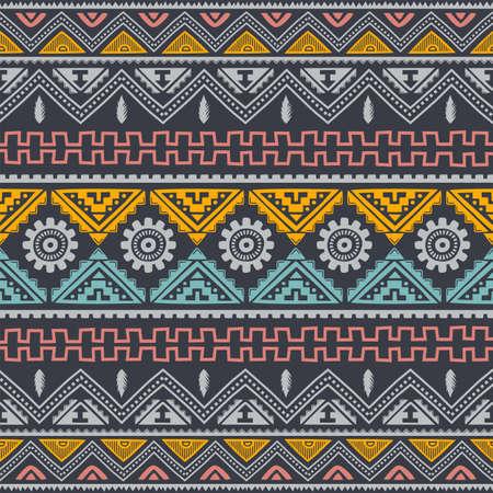 native tribe pattern background wallpaper vector Ilustração