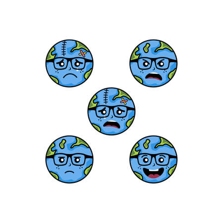 save our world planet earth campaign vector art