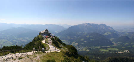 Kehlstein and Eagles nest in the bavarian Alps near Berchtesgaden in Germany