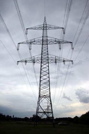 Power line Stock Photo - 4144091